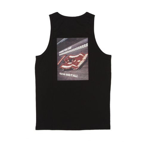 #BeenTrill Budweiser Racing Tank- Black