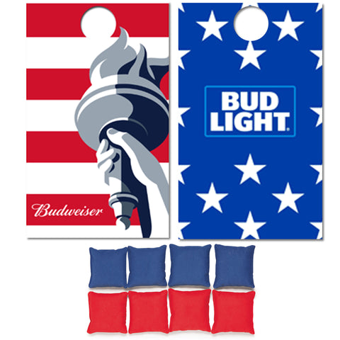 Budweiser + Bud Light Corn Hole Game