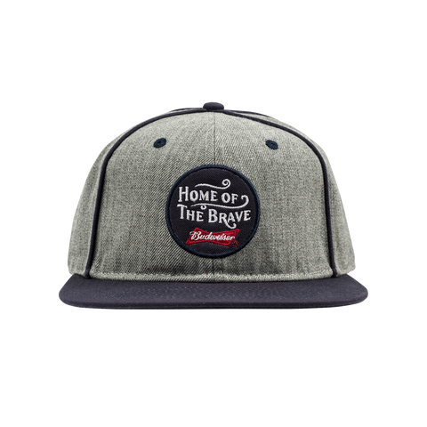 Home of the Brave Flat Bill Hat