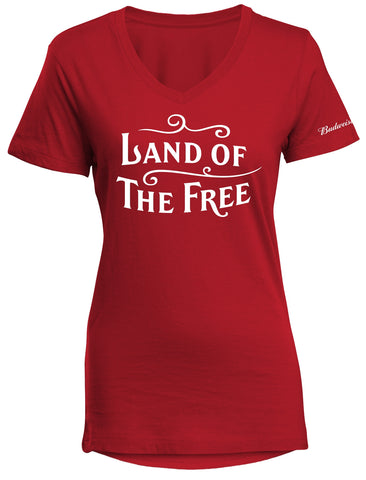 Land of the Free Ladies Tee