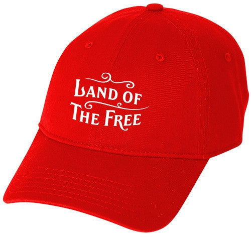 Land of the Free Baseball Hat
