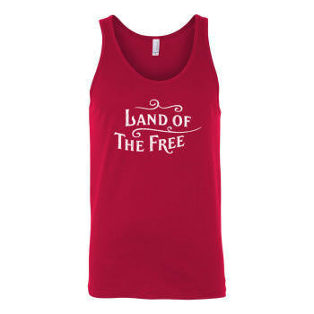 Land of the Free Tank-Red