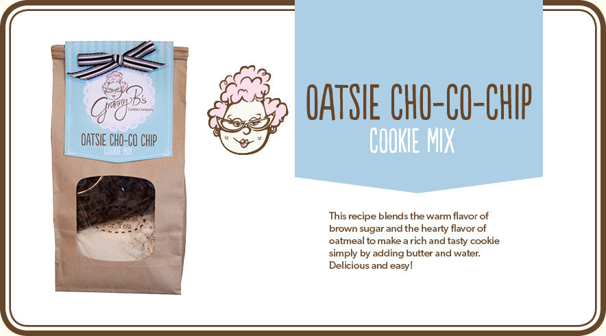 OATSIE CHO-CO-CHIP COOKIE MIX