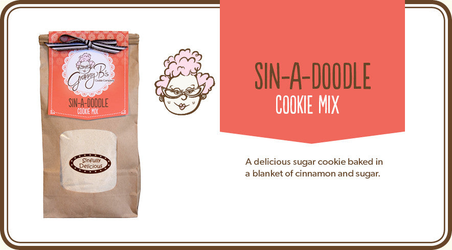 SIN-A-DOODLE COOKIE MIX