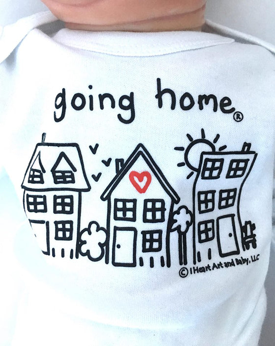 Going Home Outfit White