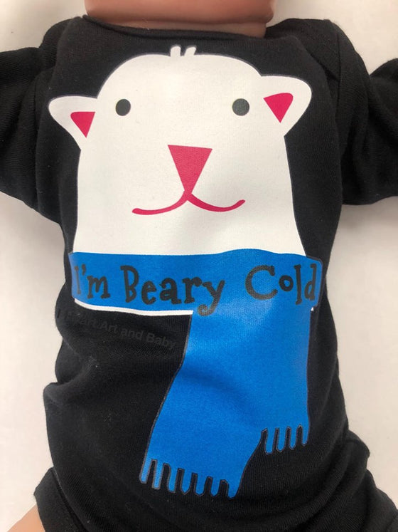 It's Beary Cold, Gender Neutral Baby Clothes
