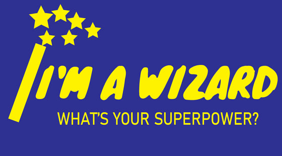 Washingtonville School - Sweatpant - What's Your Superpower? Logo