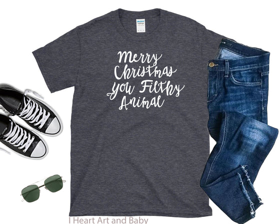 Merry Christmas Adult Shirt