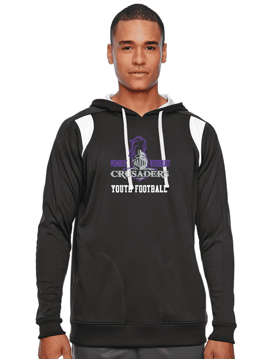 Football Performance Hoodie Black