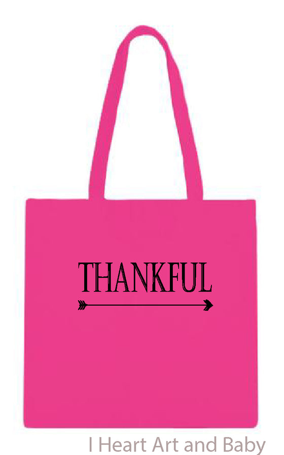 Thankful Bag Pink