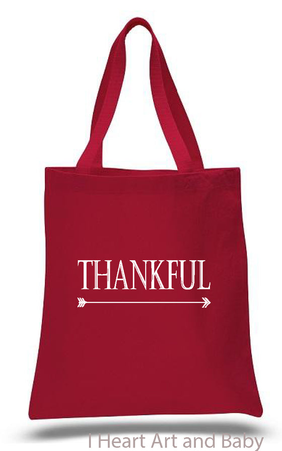 Red Thankful Bag