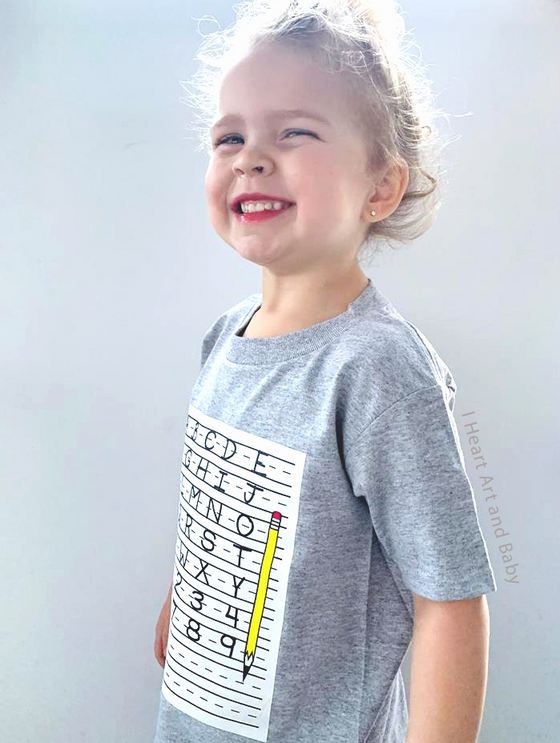 Toddler School Shirt