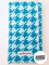 Turquoise Herringbone Burp Cloth