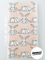 Bunnies Neutral Burp Cloth