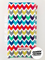 Rainbow Chevron Burp Cloth
