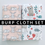 Burp Cloth Gift Set Animals Gender Neutral