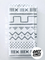 Grey Lines Burp Cloth