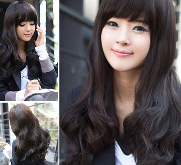 Nature Pretty Wavy Body Wave Hair Lace Wigs - lilyby