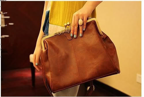 Retro Hollow Satchel Tote Handbag Shoulder Bag