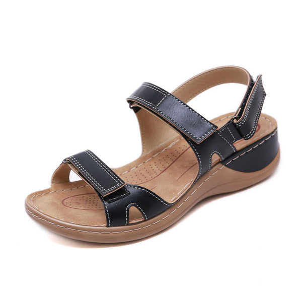 New Non-slip Beach Stitching Flats Summer Shoes Women's Sandals