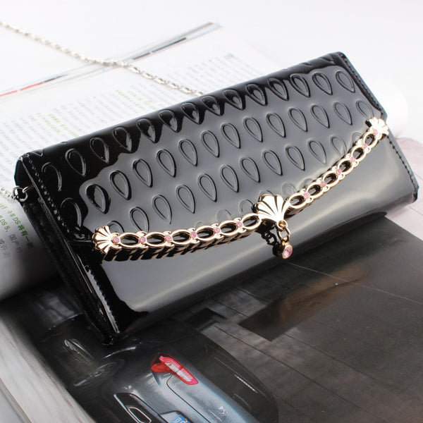 Elegant Chain Shell Clutch Bag & Wallet - lilyby
