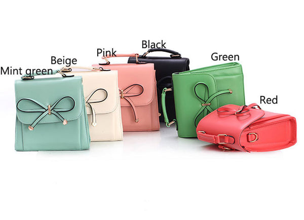 Graceful Bowknot Colorfuled Multi Handbag&Shoulder Bag - lilyby