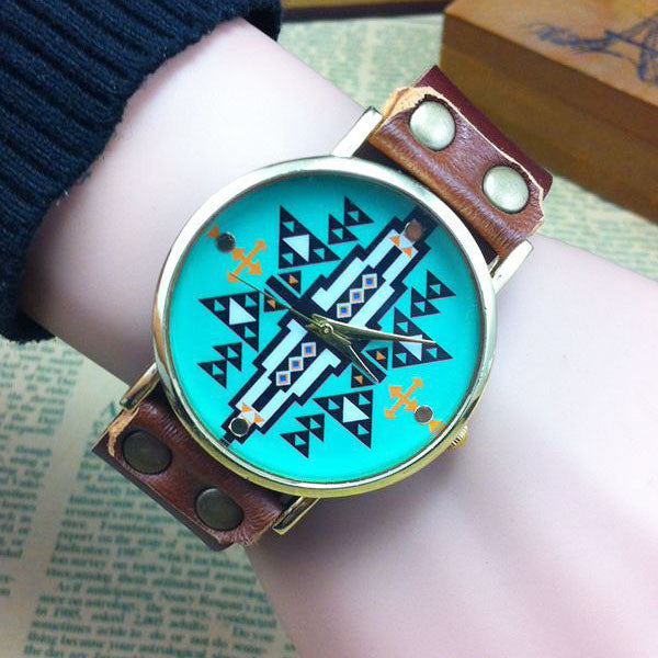 Retro Original Geometric Shape Watch - lilyby