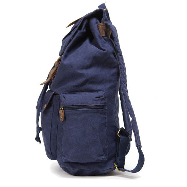 Simple Canvas Student Bags Travel Bags Backpacks