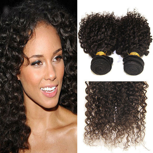 Kinky Curly Unprocessed Brazilian Virgin Human Hair - lilyby