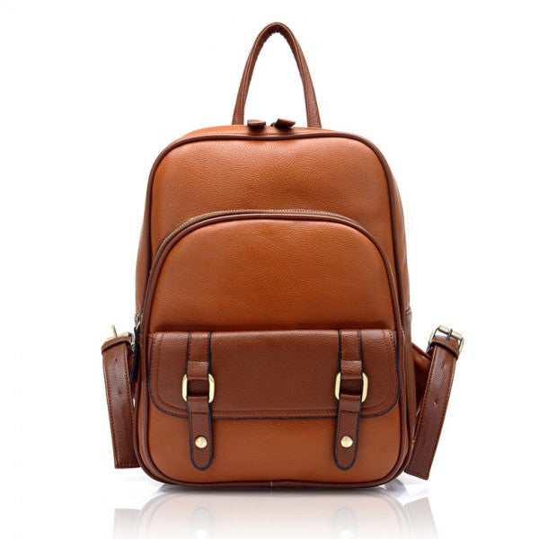 Retro PU UK Style School Backpacks - lilyby