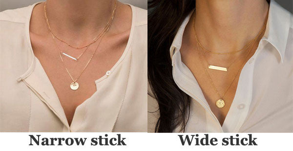 Special Geometric Sequins Multilayer Necklace/Set