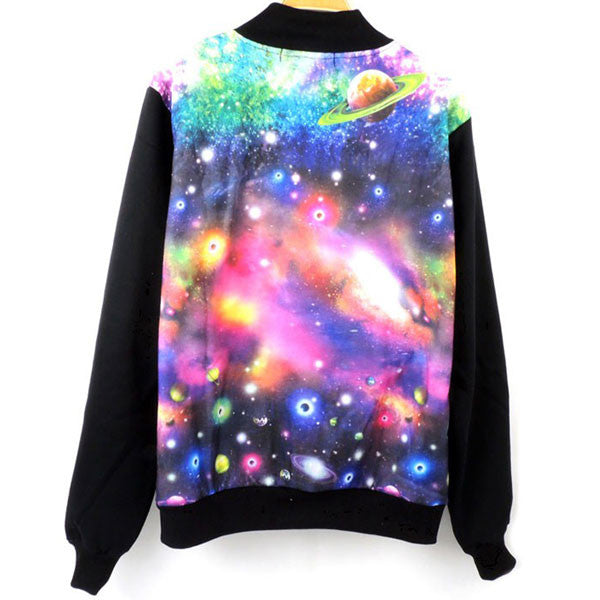 New Fashion Personality Universe Star Jacket &Sweater For Lovers - lilyby