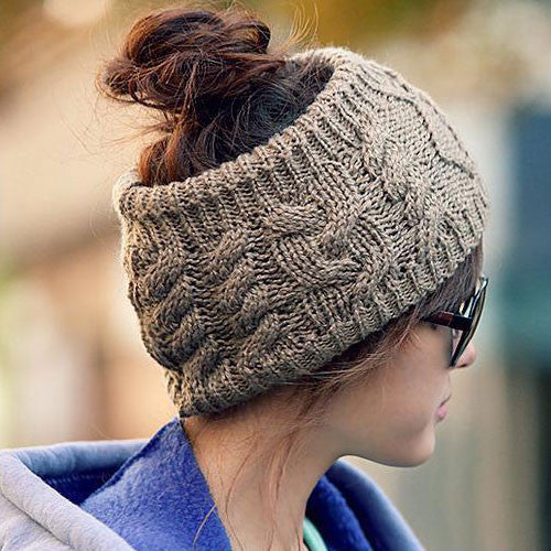 Unique Serratula Wool Hair Band Knitted Headband