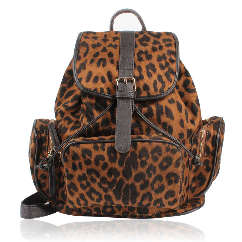 Retro Nice Leopard Prints Backpack&Schoolbag - lilyby