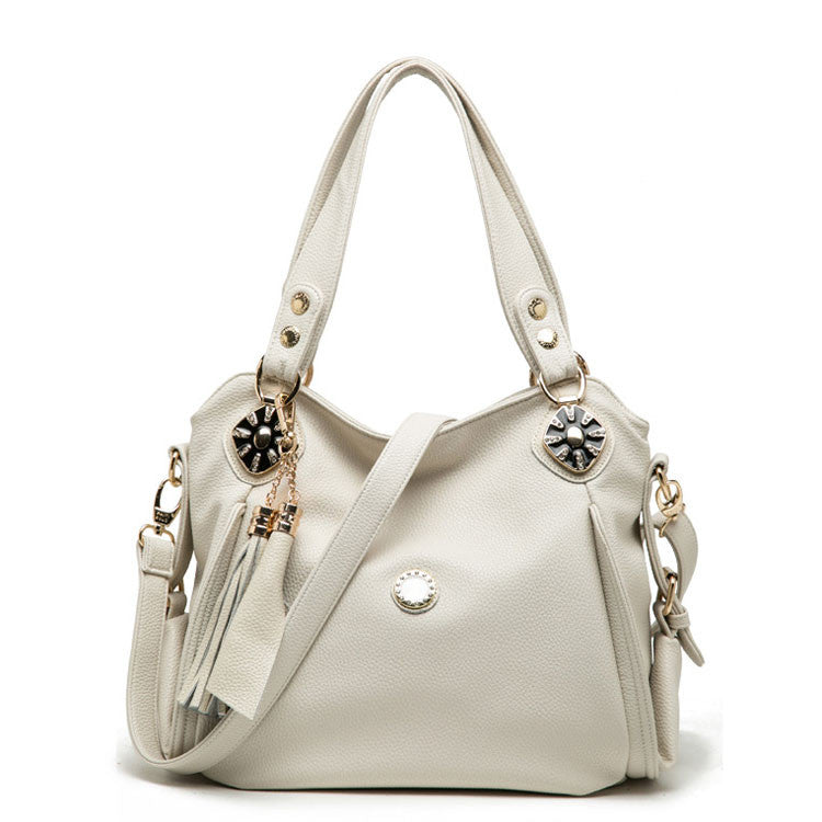 Lady Fringeds Rhinestone Shoulder Bag Handbag - lilyby