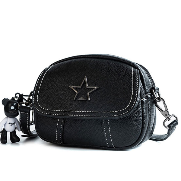 Fashion Star Lady PU Small Messenger Bag Shoulder Bag