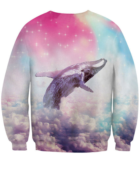 New Unique 3D Star Dolphin Printing Sweatshirts - lilyby