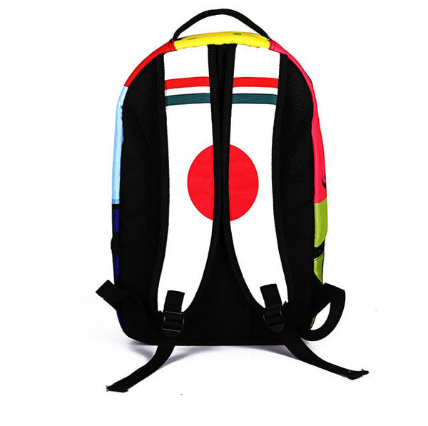 Frightened SpongeBob Backpack Cartoon Schoolbag