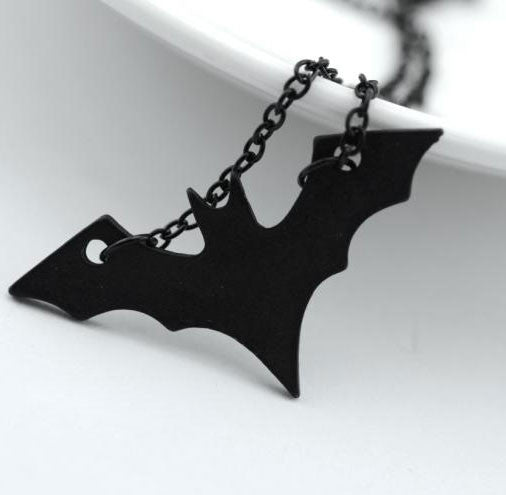 Dark Knight Batman Long Necklace - lilyby