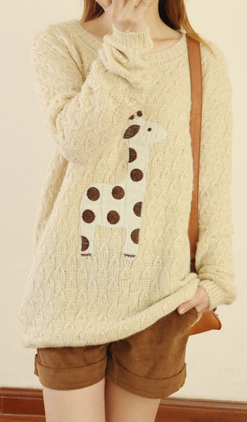 Pretty Fashion  Fawn Sleeve Sweater&Cardigan - lilyby