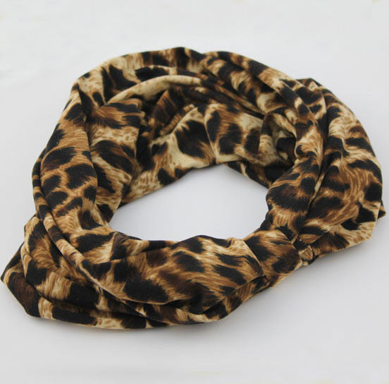 Sexy Smoked Leopard Printed Hair Band Headband