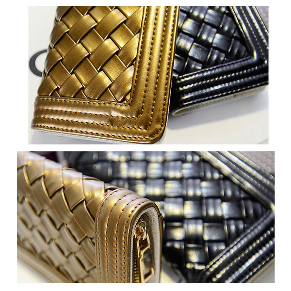 Mini New Woven Clutch Bag & Wallet - lilyby