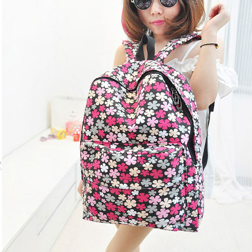 England Fashion Small Latest Floral  Backpack - lilyby
