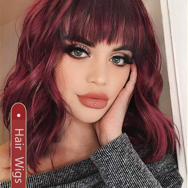 Leisure Women's Wig Curls Long Wavy Curly Lace Hair Wig