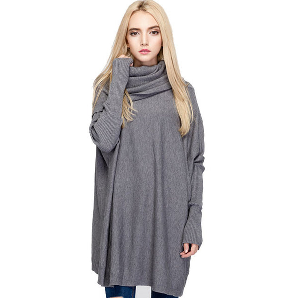 Batwing Long-sleeved Sweater Outside Wearing Sweater