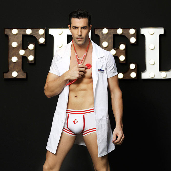 Sexy Costumes Doctor Men's Bar Nightclub Male Nurse Cosplay Men's Lingerie