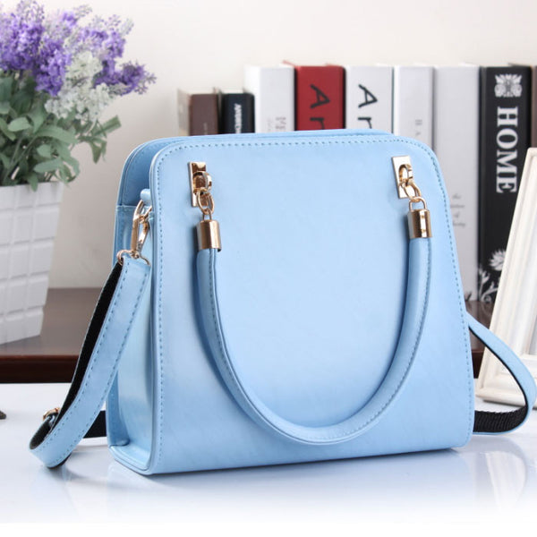 Temperament Simple Candy-colored Stereotypes Handbag