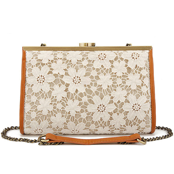 Latest New Graceful Lace Handbag & Shoulder Bag - lilyby