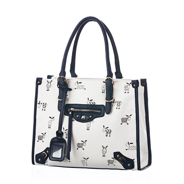 Graceful Pretty Deer Print Handbag - lilyby