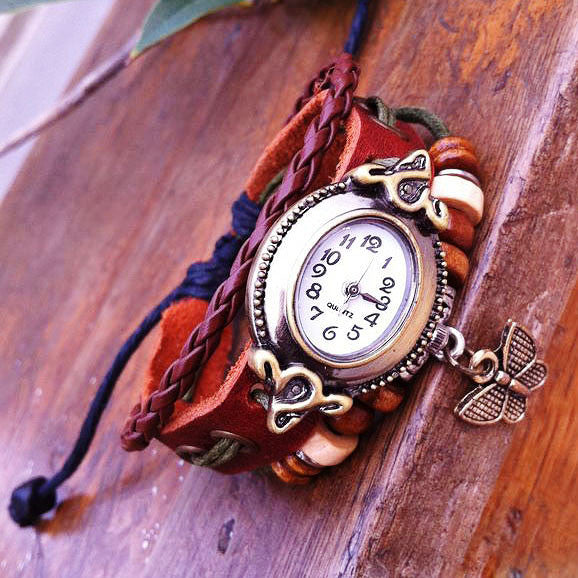 Lovely Butterfly Rope Bracelet Watch - lilyby